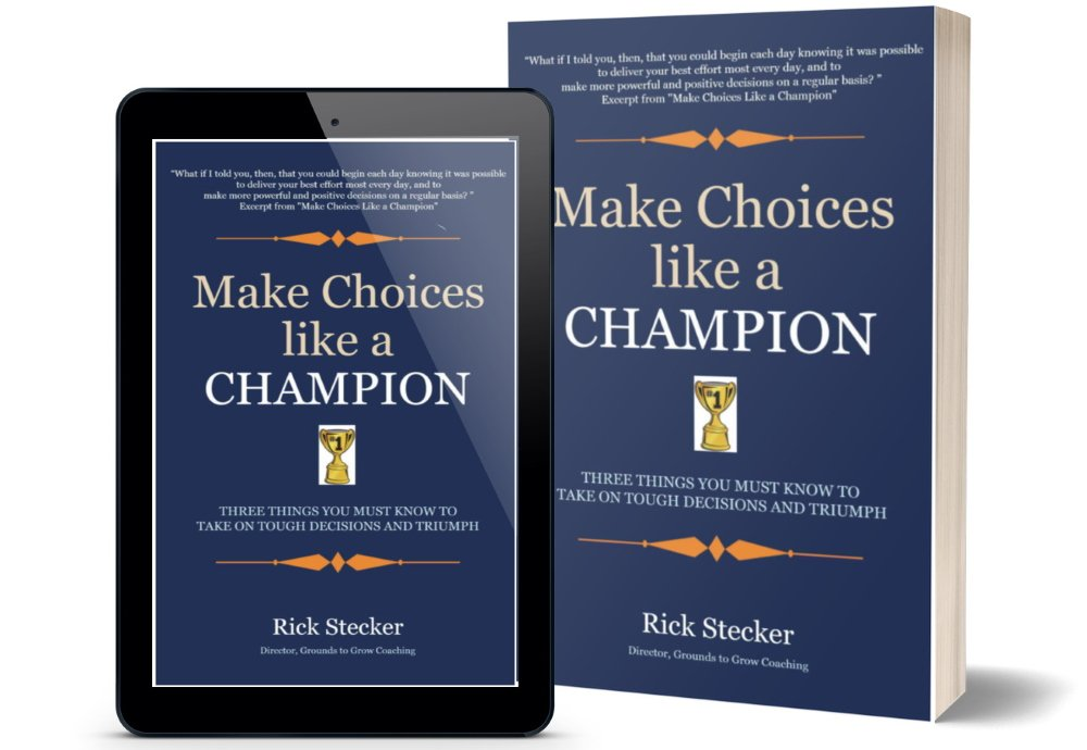 cover - Make Choices Like A Champion